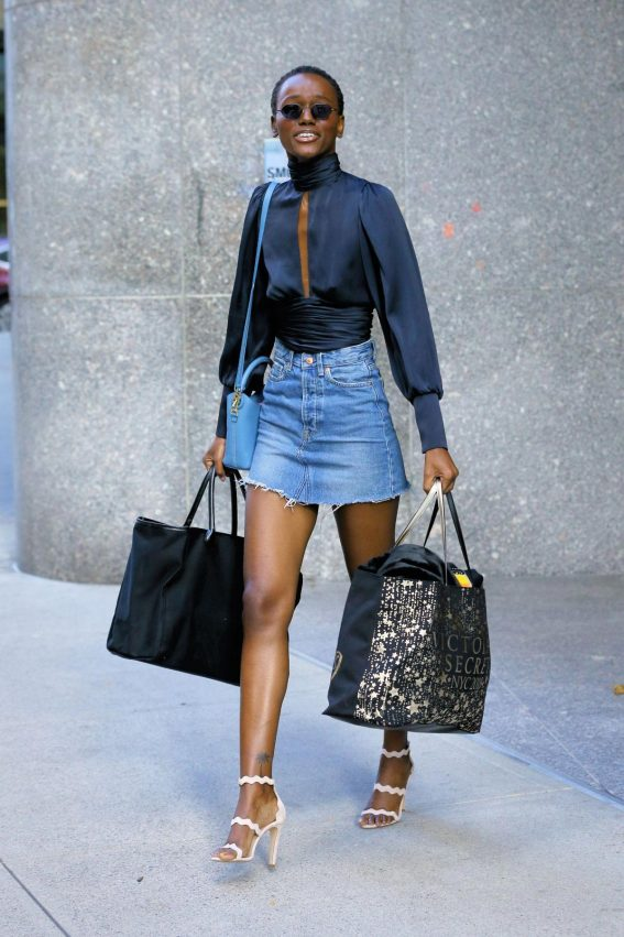 Herieth Paul at Victoria's Secret Fashion Show Fittings in New York 2018/11/03 1