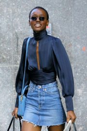 Herieth Paul at Victoria's Secret Fashion Show Fittings in New York 2018/11/03 4