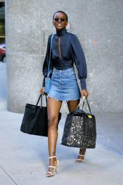 Herieth Paul at Victoria's Secret Fashion Show Fittings in New York 2018/11/03 7