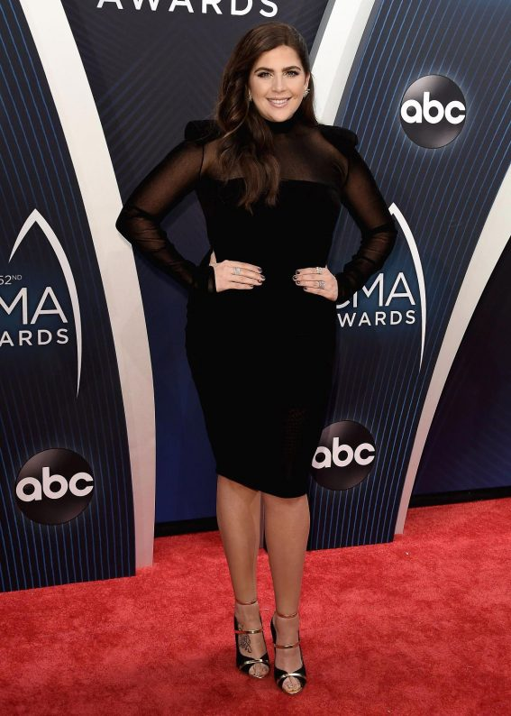 Hillary Scott at 2018 CMA Awards in Nashville 2018/11/14 1