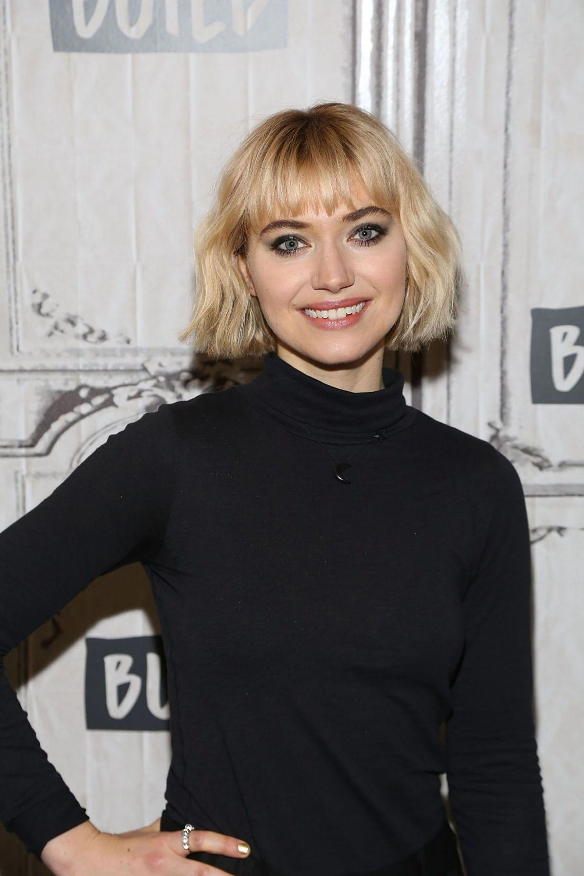 Imogen Poots at AOL Build in New York 2018/11/15 1