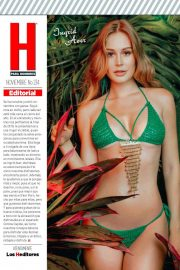 Ingrid Aver in H Para Hombres, Mexico November 2018 Issue 13