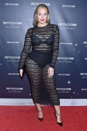 Iskra Lawrence at PrettyLittleThing Starring Hailey Baldwin Event in Los Angeles 2018/11/05 2