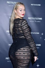 Iskra Lawrence at PrettyLittleThing Starring Hailey Baldwin Event in Los Angeles 2018/11/05 5