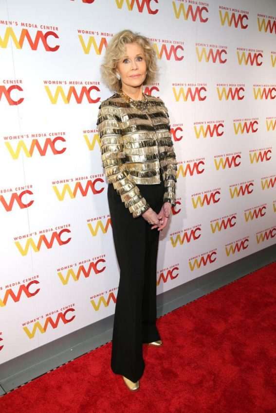 Jane Fonda at 2018 Women's Media Awards in New York 2018/11/01 1