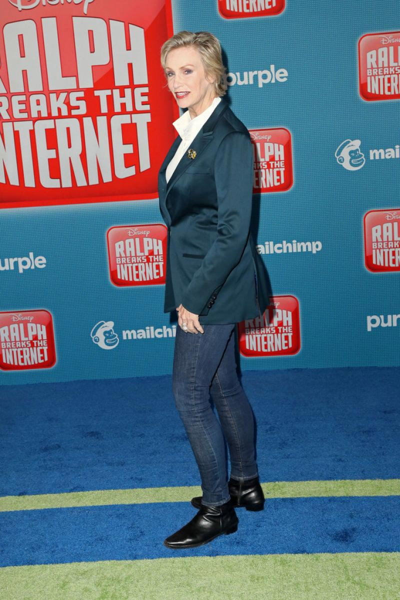 Jane Lynch at Ralph Breaks the Internet Premiere in Hollywood 2018/11/05 1