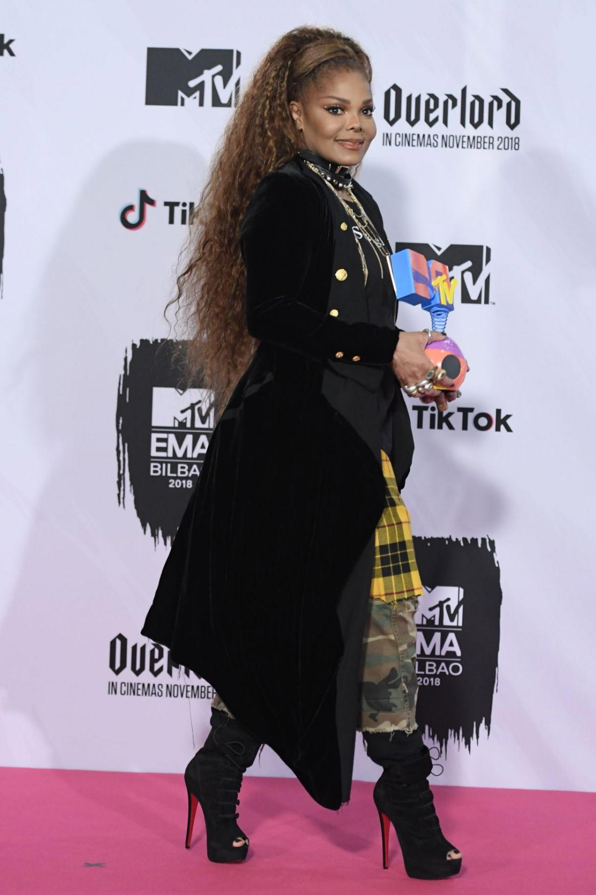 Janet Jackson at MTV European Music Awards 2018 in Bilbao 2018/11/04 1