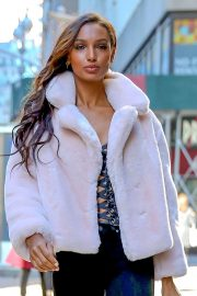 Jasmine Tookes at Victoria's Secret Fashion Show Fittings in New York 2018/10/31 1