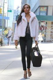 Jasmine Tookes at Victoria's Secret Fashion Show Fittings in New York 2018/10/31 2