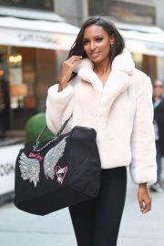 Jasmine Tookes at Victoria's Secret Fashion Show Fittings in New York 2018/10/31 9