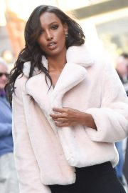 Jasmine Tookes at Victoria's Secret Fashion Show Fittings in New York 2018/10/31 10
