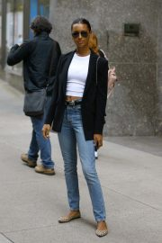 Jasmine Tookes at Victoria's Secret Offices in New York 2018/11/02 1