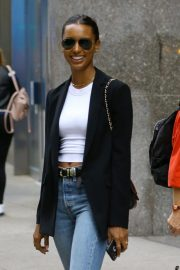 Jasmine Tookes at Victoria's Secret Offices in New York 2018/11/02 3
