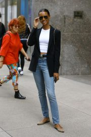 Jasmine Tookes at Victoria's Secret Offices in New York 2018/11/02 4