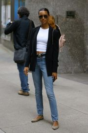 Jasmine Tookes at Victoria's Secret Offices in New York 2018/11/02 6