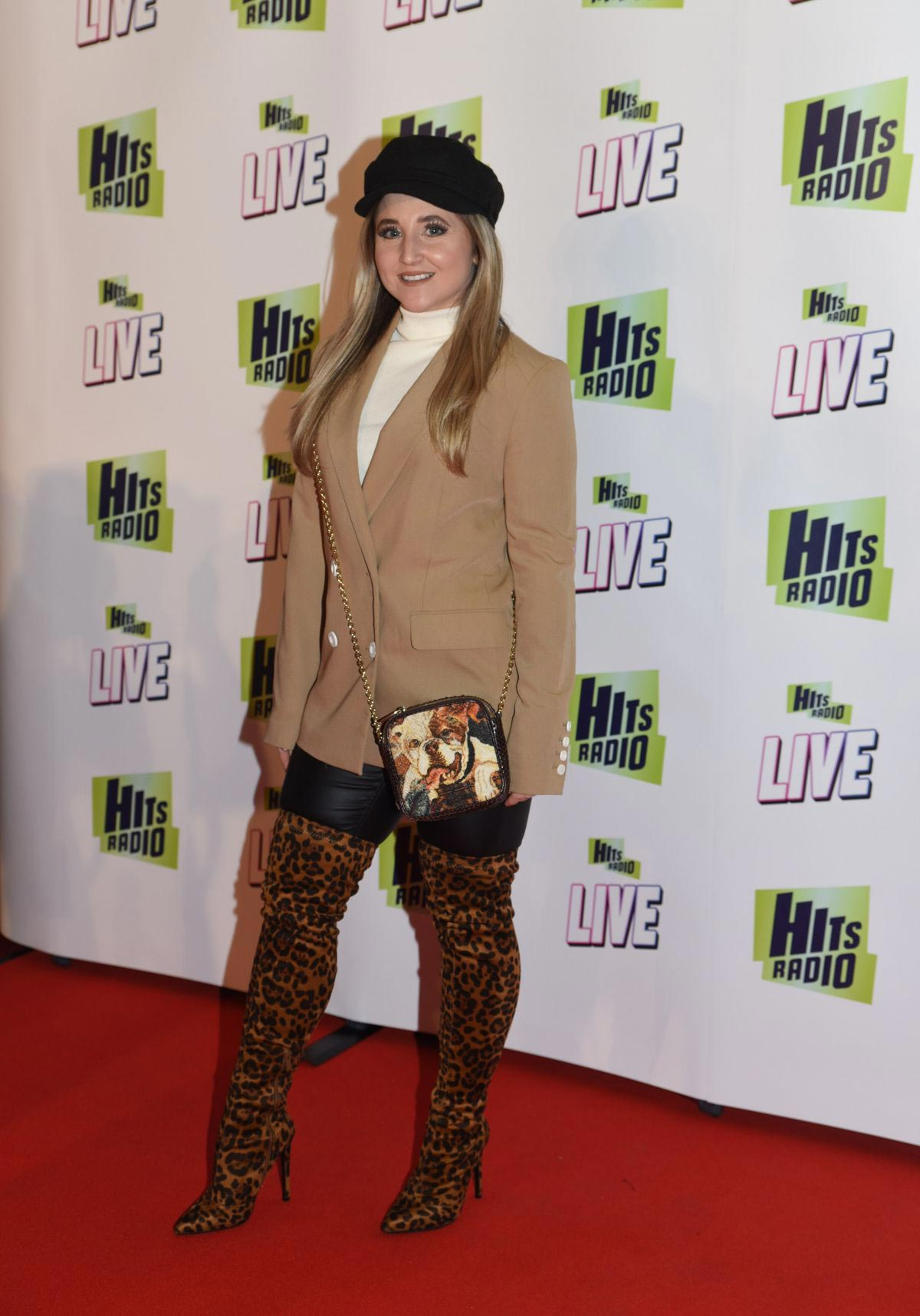 Jazmine Franks at Hits Radio Live in Manchester 2018/11/25 1