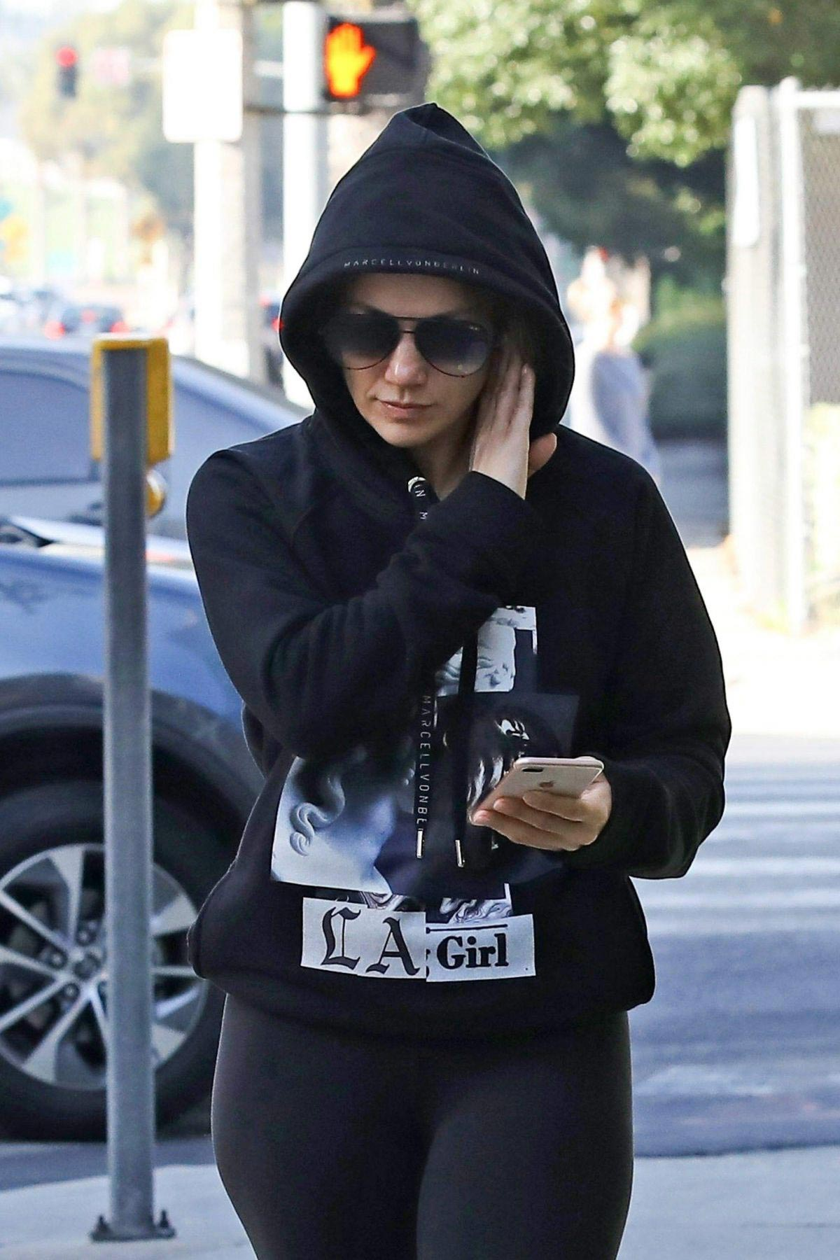 Jennifer Lopez Heading to a Gym in Los Angeles 2018/11/17 1