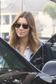 Jessica Biel Out for Lunch at Rose Cafe in Venice Beach 2018/11/04 2