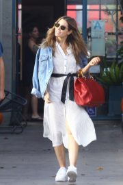 Jessica Biel Out for Lunch at Rose Cafe in Venice Beach 2018/11/04 7