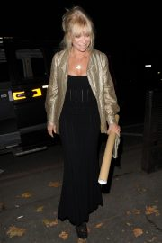 Jo Wood Arrives at Phil Turner's 50th Birthday Party in London 2018/11/14 2