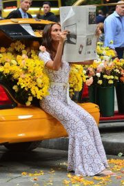 Joan Smalls on the Set of a Photoshoot in New York 2018/11/20 4