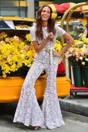 Joan Smalls on the Set of a Photoshoot in New York 2018/11/20 7