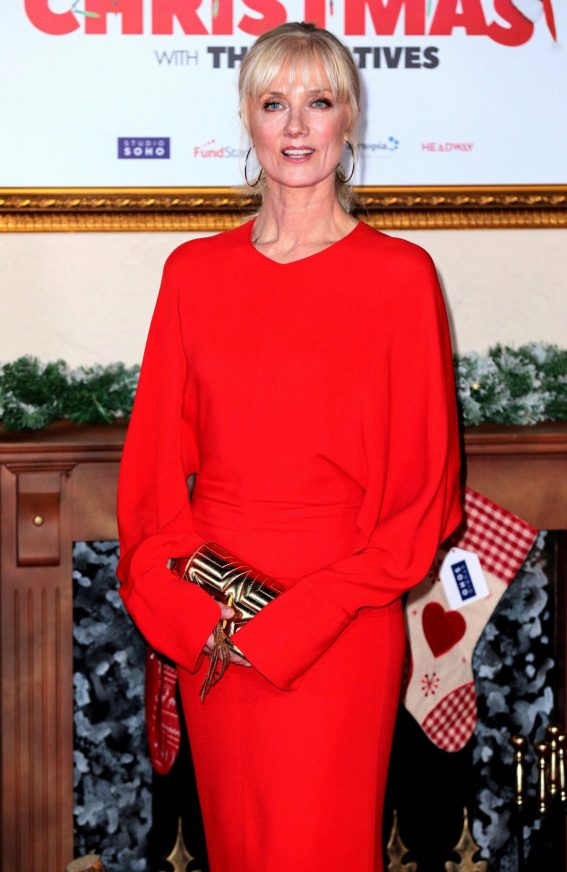 Joely Richardson at Surviving Christmas with the Relatives Premiere in London 2018/11/21 1