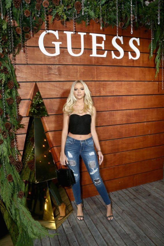 Jordyn Jones at Guess Holiday 2018 Event in West Hollywood 2018/11/07 1