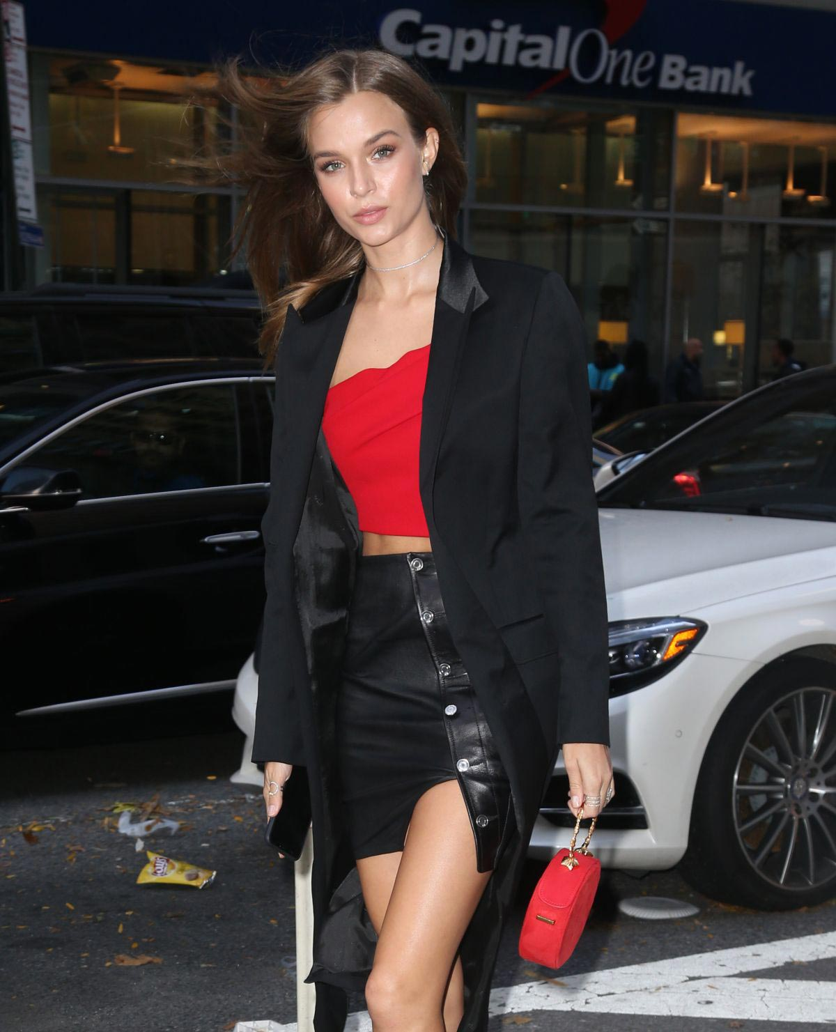 Josephine Skriver at Victoria's Secret Fashion Show Fittings in New York 2018/11/06 1