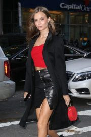 Josephine Skriver at Victoria's Secret Fashion Show Fittings in New York 2018/11/06 6