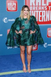 Julia Michaels at Ralph Breaks the Internet Premiere in Hollywood 2018/11/05 4