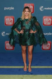 Julia Michaels at Ralph Breaks the Internet Premiere in Hollywood 2018/11/05 8