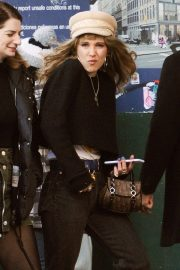 Juno Temple and Lily James Out in New York 2018/11/20 4