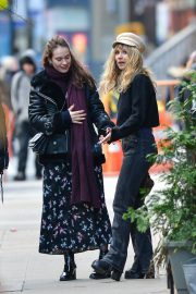 Juno Temple and Lily James Out in New York 2018/11/20 5