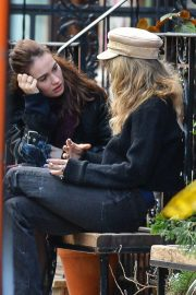 Juno Temple and Lily James Out in New York 2018/11/20 6