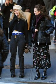 Juno Temple and Lily James Out in New York 2018/11/20 7