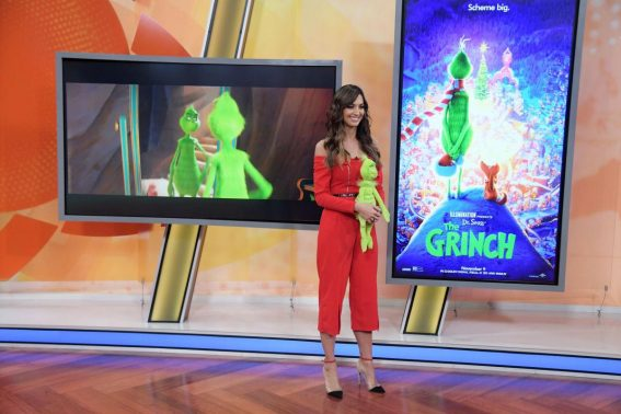 Karla Birbragher at Grinch Takeover at Un Nuevo Dia in Miami 2018/11/07 1