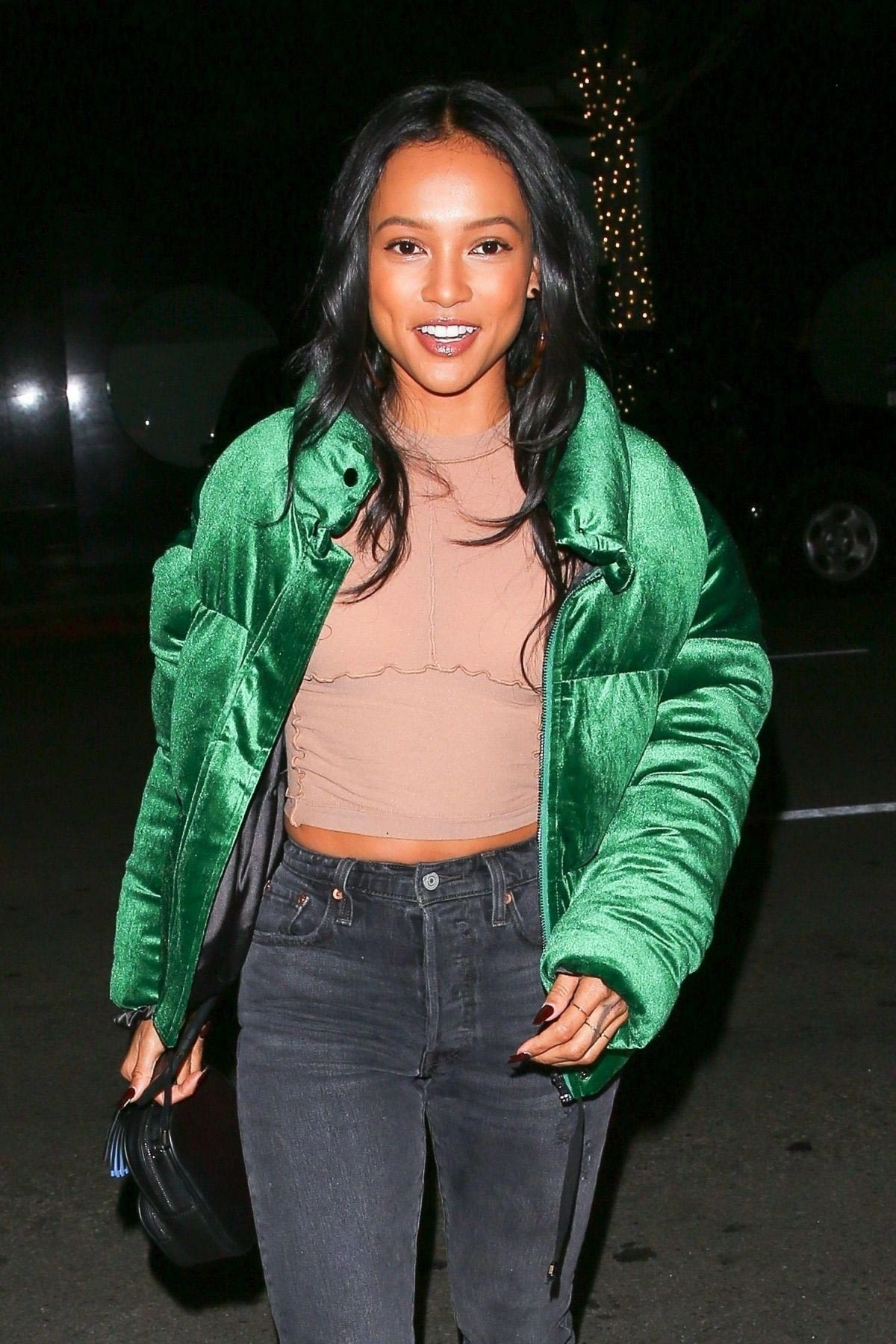 Karrueche Tran Out for Dinner at Mr Chow in Beverly Hills 2018/11/25 1