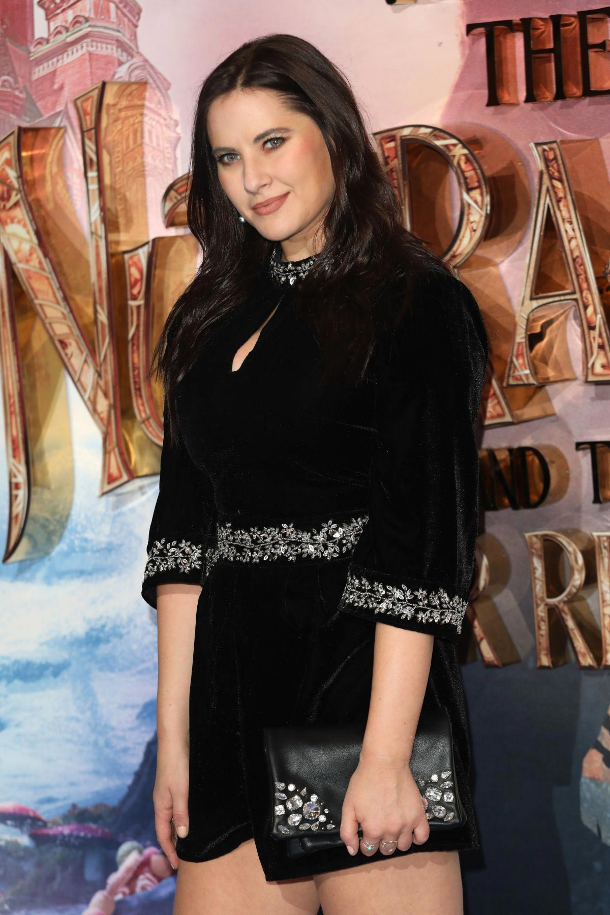 Kat Shoob at The Nutcracker and the Four Realms Premiere in London 2018/11/01 1