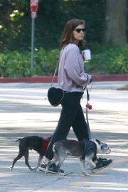 Kate Mara Out with Her Dogs in Griffith Park in Los Feliz 2018/11/03 3