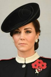 Kate Middleton at Annual Remembrance Sunday Memorial in London 2018/11/11 1