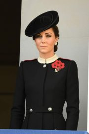 Kate Middleton at Annual Remembrance Sunday Memorial in London 2018/11/11 2