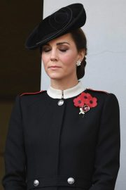 Kate Middleton at Annual Remembrance Sunday Memorial in London 2018/11/11 6