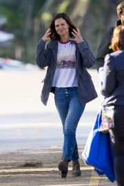 Katie Holmes on the Set of The Secret in New Orleans 2018/11/02 3