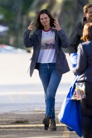 Katie Holmes on the Set of The Secret in New Orleans 2018/11/02 4