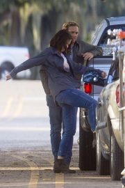 Katie Holmes on the Set of The Secret in New Orleans 2018/11/02 7