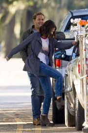 Katie Holmes on the Set of The Secret in New Orleans 2018/11/02 9