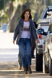 Katie Holmes on the Set of The Secret in New Orleans 2018/11/02 10