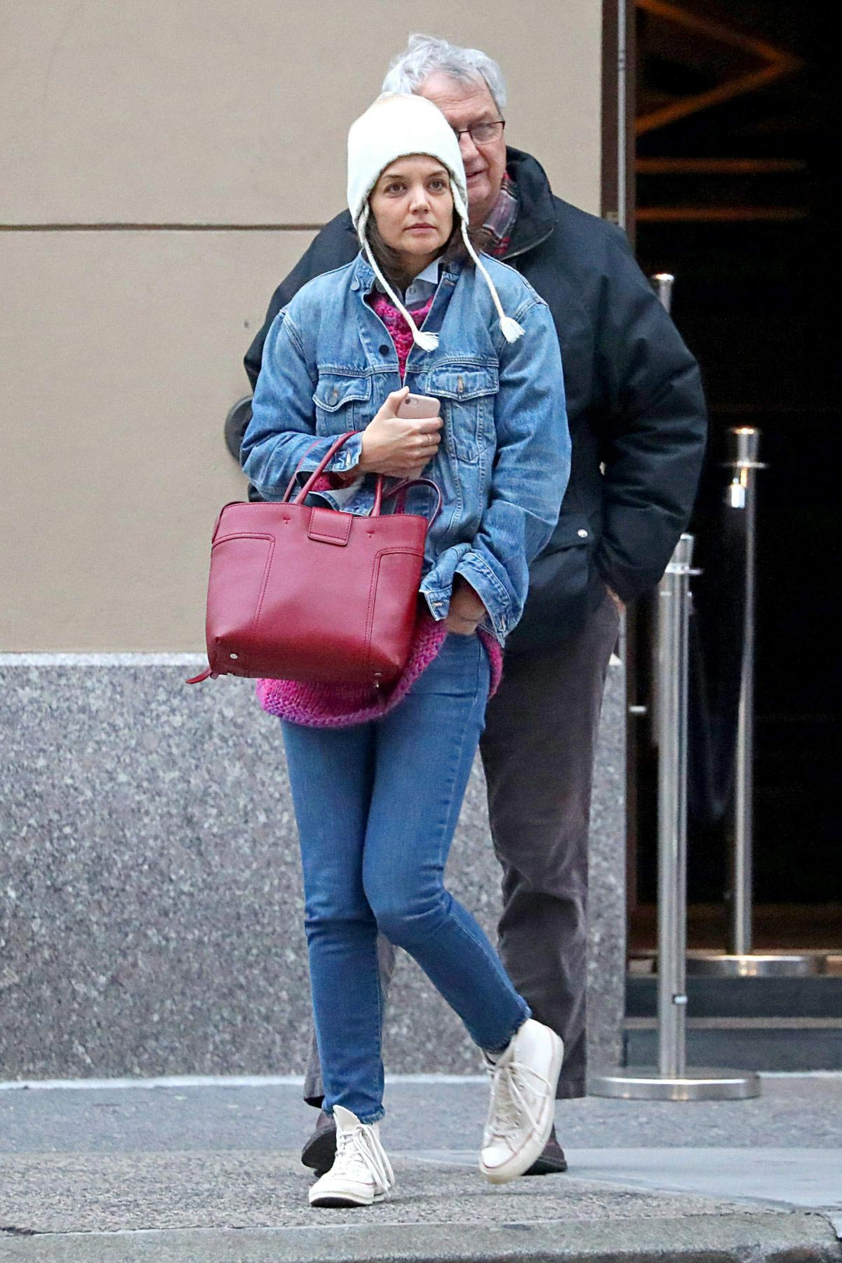 Katie Holmes Out in New York 2018/11/24 1