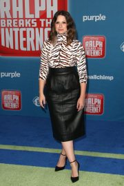 Katie Lowes at Ralph Breaks the Internet Premiere in Hollywood 2018/11/05 9
